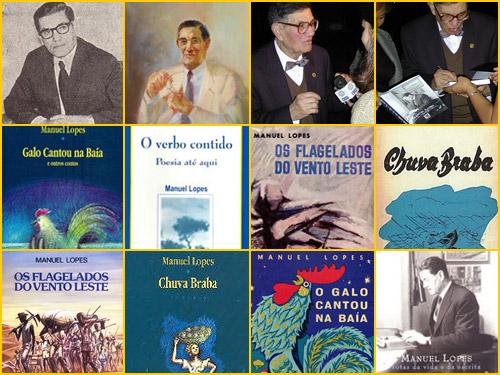 Manuel Lopes - escritor e capas de livros